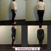 Monika- redukcja wagi, spadek w  obwodach (-12kg)