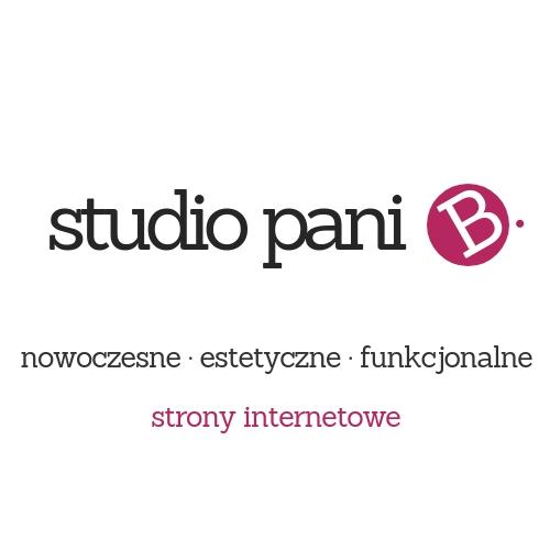 Studio pani B. - nowoczesne, estetyczne, funkcjonalne strony internetowe